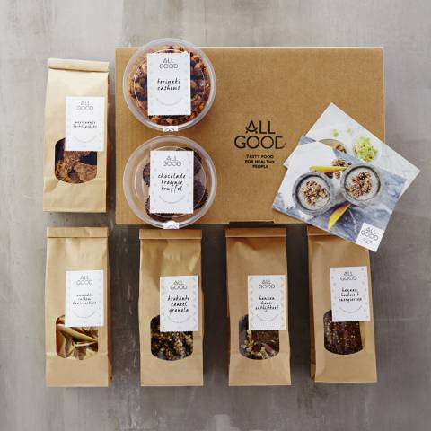 ALL GOOD Raw Vegan Snack Box: The Making-Of