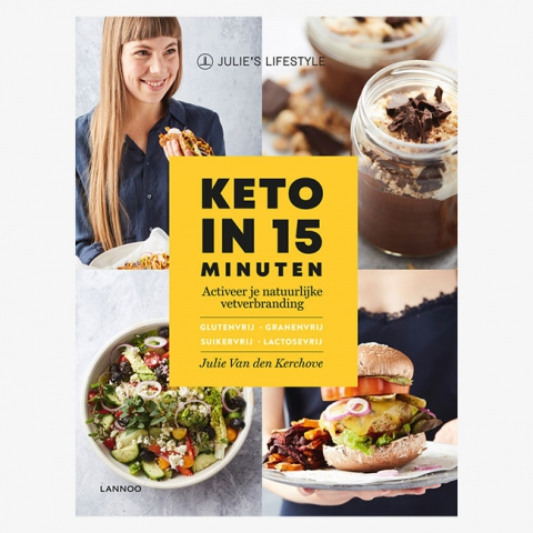 Exclusive sneak peek of our newest cookbook 'Keto in 15 Minuten'!