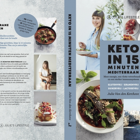 Sneak peek of our newest cookbook 'Keto in 15 Minuten Mediterraan'!