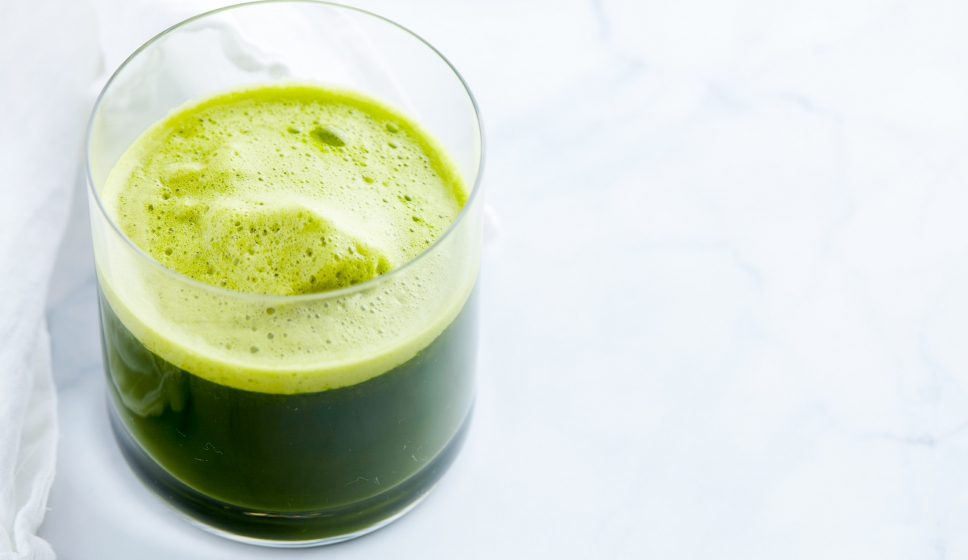 Green Detox Juice for Fat Burning & Energy