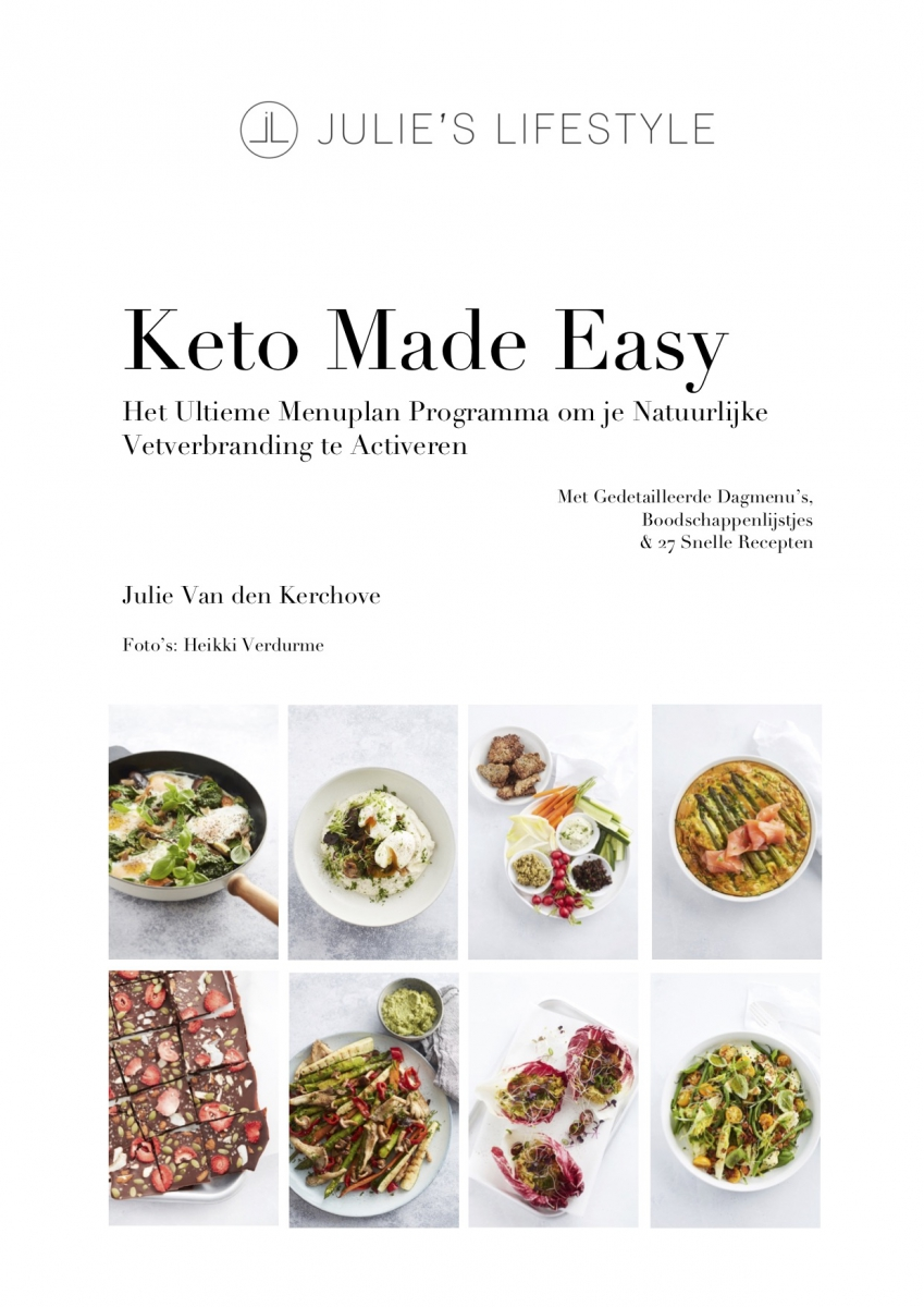 Keto Made Easy Menuplan eBook