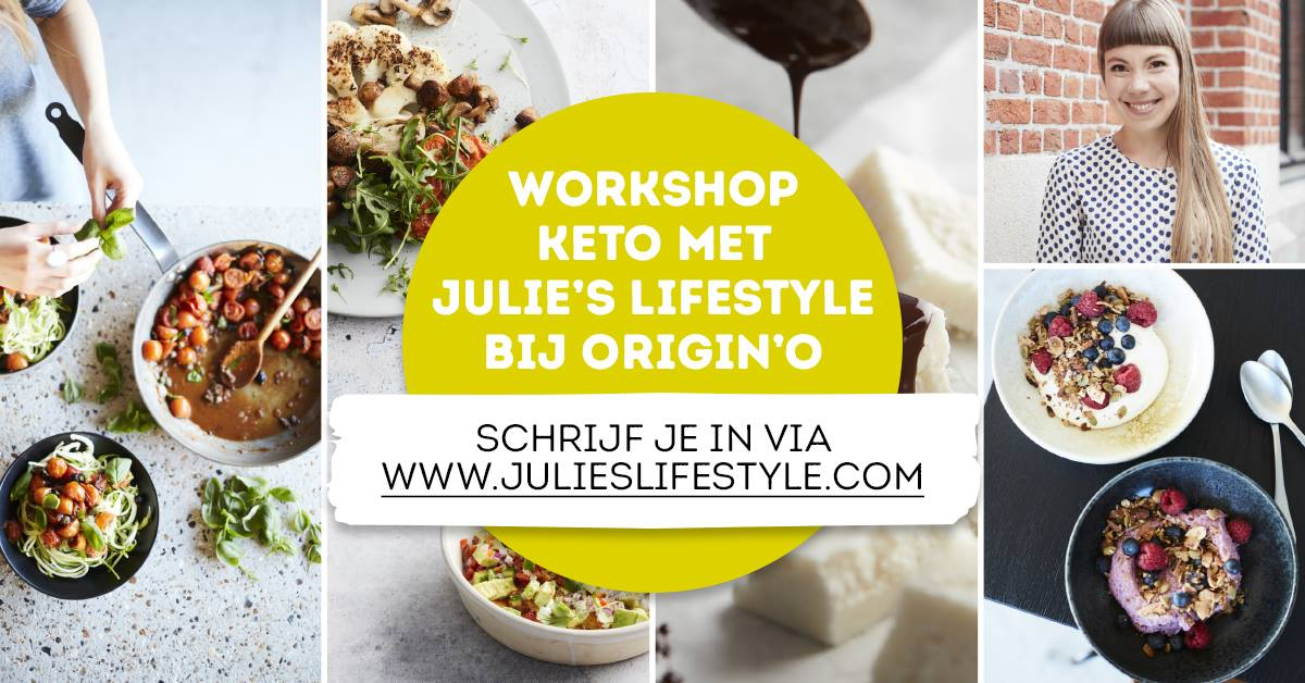 Join us during our upcoming Start to Keto Workshops at organic shop Origin'O!