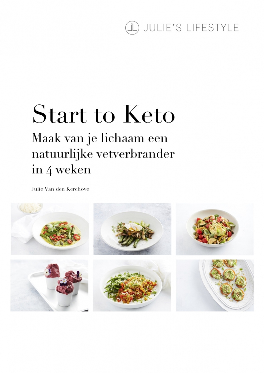 Start to Keto eBook - low carb recepten