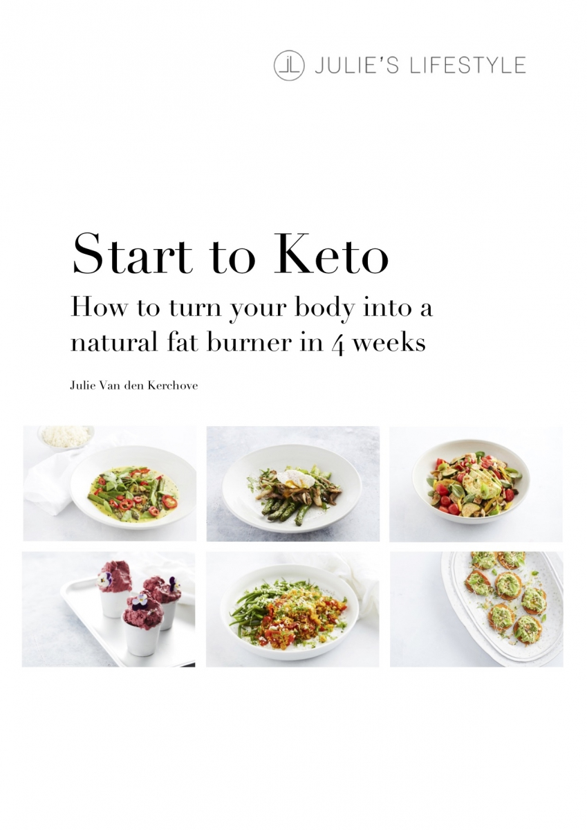 Start to Keto eBook - 30 easy low carb recipes - vegan & vegetarian