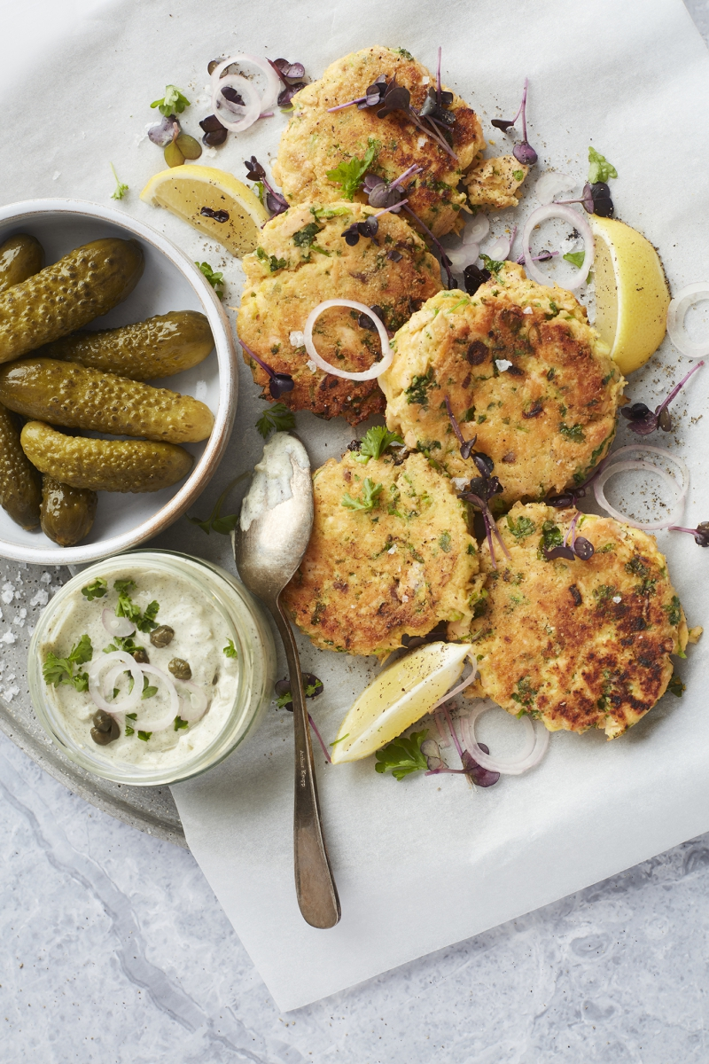 Fish Cakes from Keto in 15 Minuten