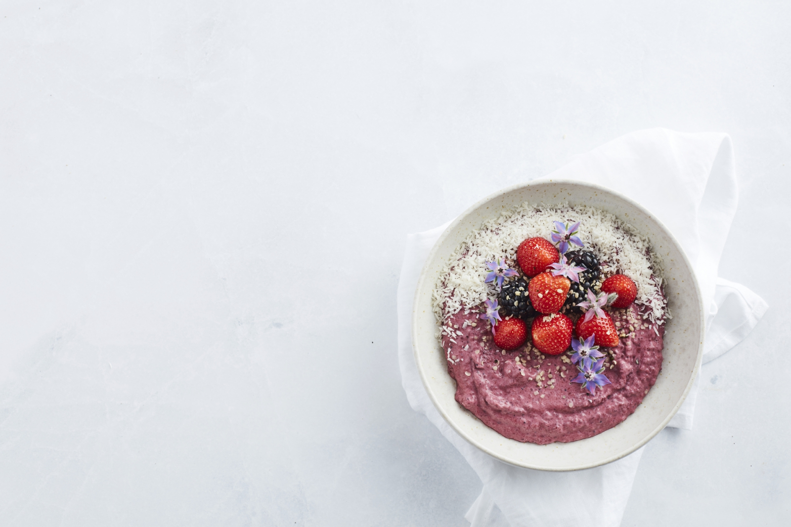 Berry Chia Pudding - Vegan Keto Recipe - Start to Keto eBook