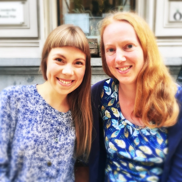 Mairi Ginger Vegan & Raw Food Chef Julie at Le Botaniste in Ghent