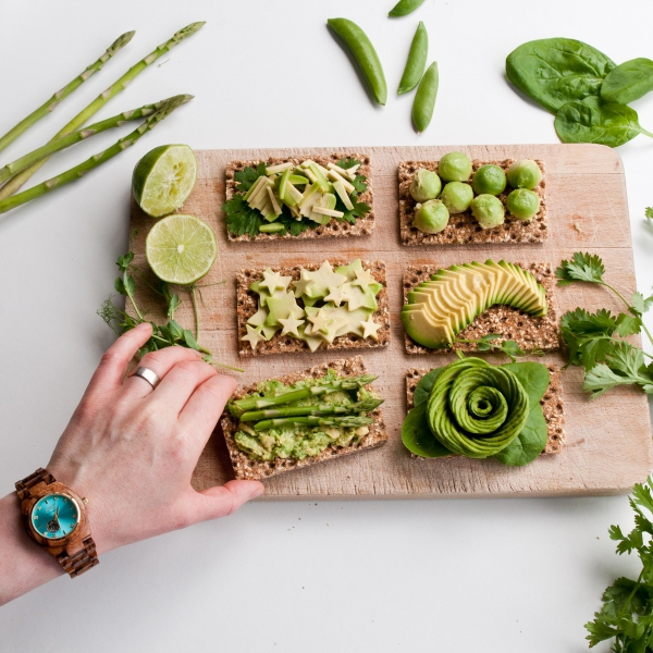 Avocado Crackers | Inspiration: Ginger Vegan