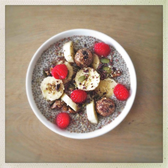 Raw vegan christmas menu ideas vanilla maple chia pudding forumfinder Image collections