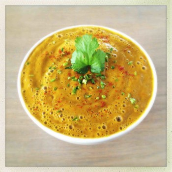 Warming Carrot Ginger Soup