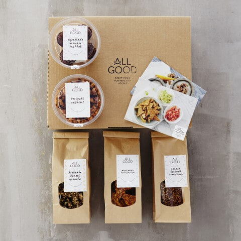ALL GOOD Vegan Snack Box - SMALL