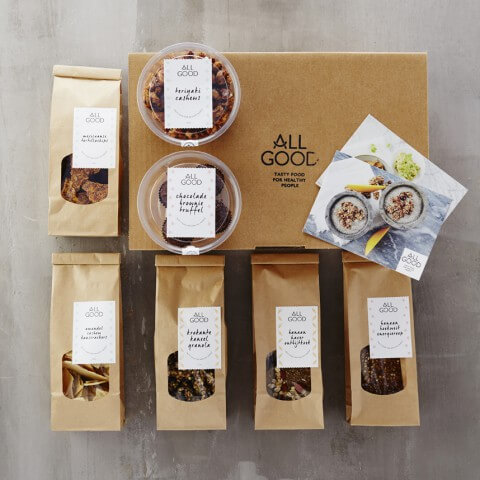 ALL GOOD Vegan Snack Box - STANDAARD