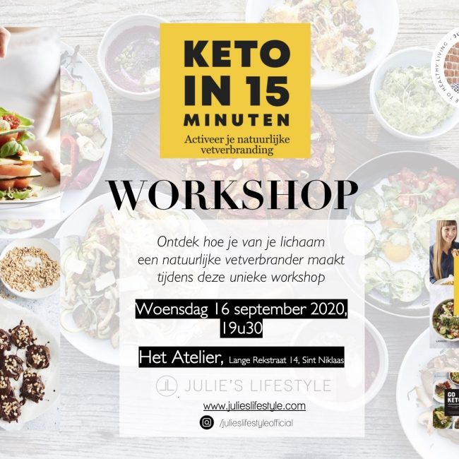 Keto in 15 minuten workshop
