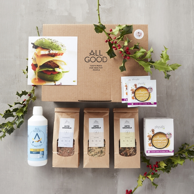 ALL GOOD Christmas Keto Box (Limited Edition)